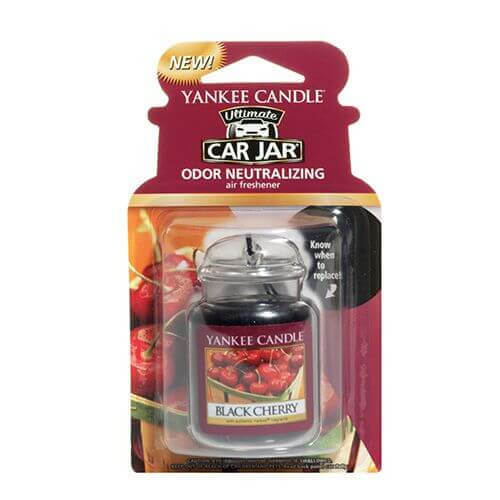 Yankee Candle Car Jar Ultimate Black Cherry