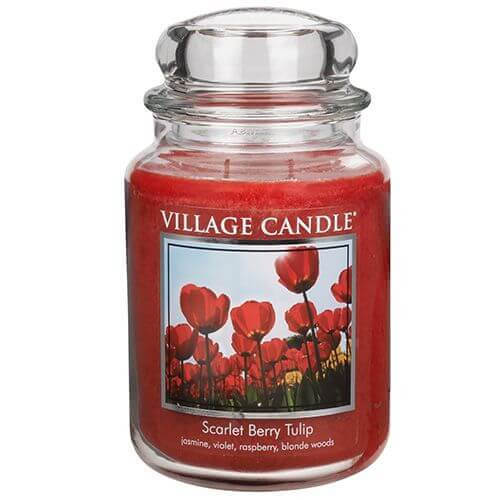 Village Candle Scarlet Berry Tulip 645g