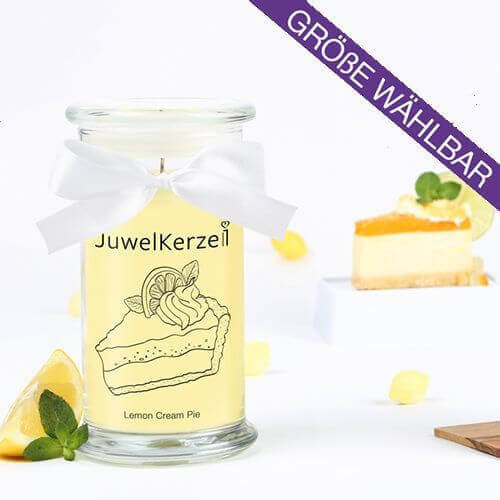 JuwelKerze Lemon Cream Pie (Ring) 380g