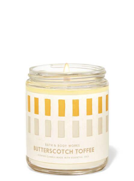 1-Docht Kerze - Butterscotch Toffee - 198g