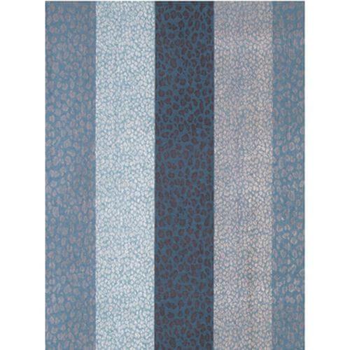 Jaquard-Schal Multi Blue 034
