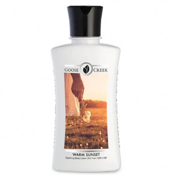 Body Lotion - Warm Sunset - 250ml Goose Creek Candle
