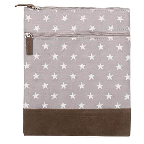 Canvas Crossbag 031 (Grey Stars)