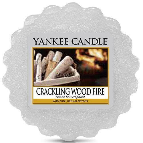Crackling Wood Fire 22g - Yankee Candle