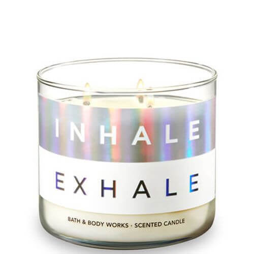 Bath & Body Works Inhale Exhale - Eucalyptus Rain 411g