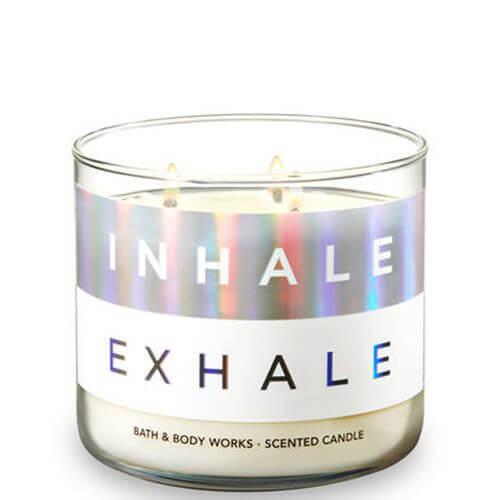 Bath & Body Works Inhale Exhale - Eucalyptus Rain 411g