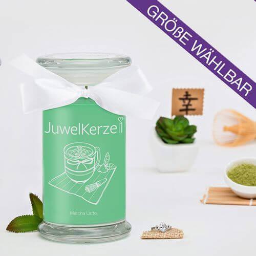 JuwelKerze Matcha Latte (Ring) 380g
