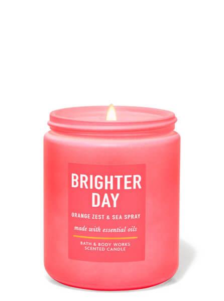 1-Docht Kerze - Brighter Day - Orange Zest & Sea Spray - 198g