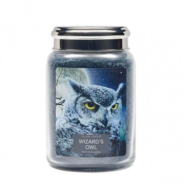 Wizard's Owl (Fantasy Jar) 602g (Chrome)