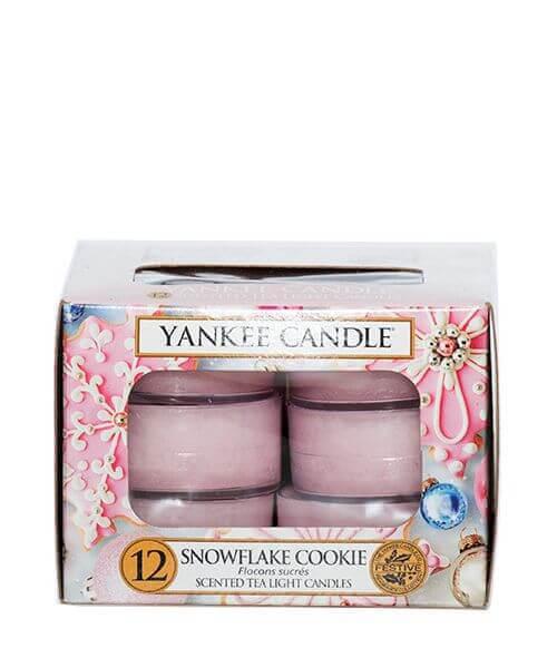 Yankee Candle Teelichte Snowflake Cookie