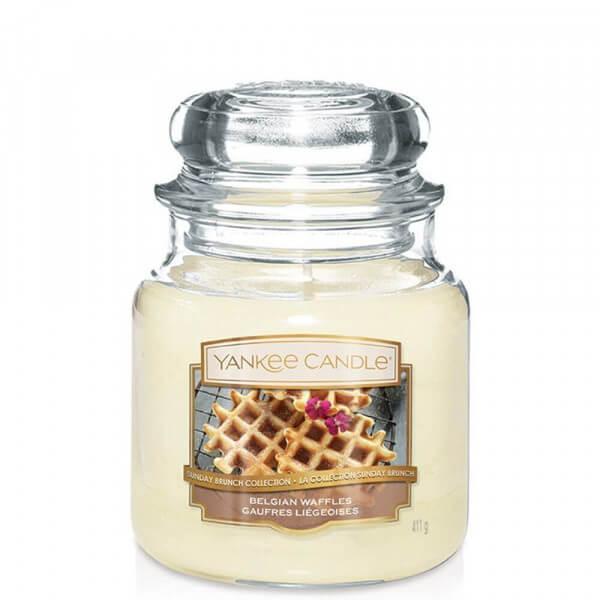 Belgian Waffles 411g von Yankee Candle online bestellen