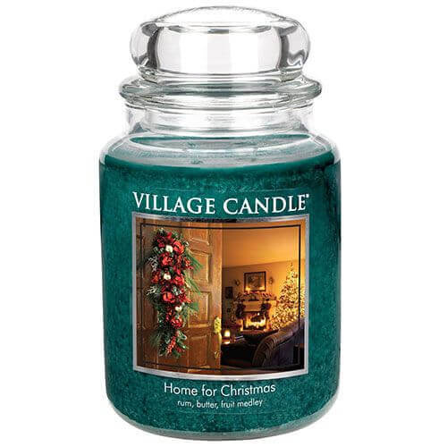 Village Candle Home for Christmas 645g