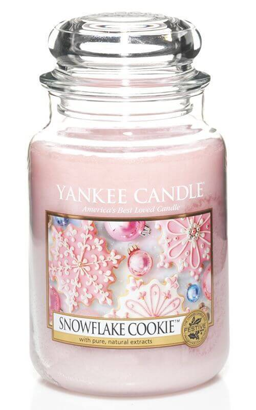 snowflake cookie 623g von yankee candle online bestellen candle dream. Black Bedroom Furniture Sets. Home Design Ideas