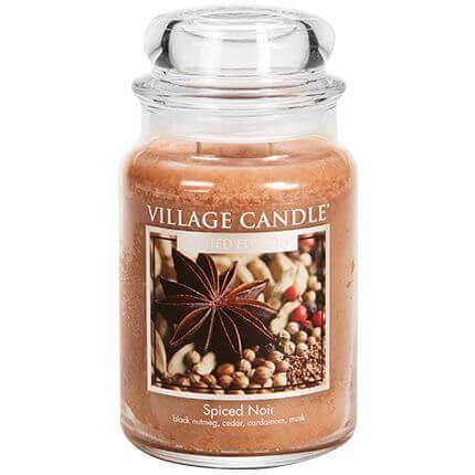 Village Candle Spiced Noir 626g