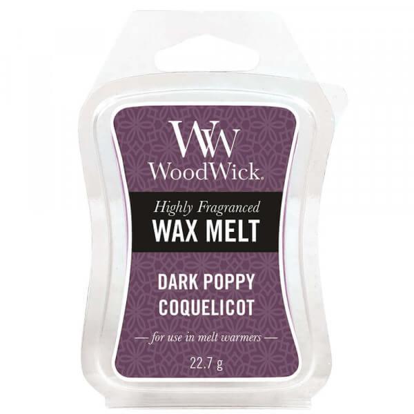 Dark Poppy Wax Melt 22,7g von Woodwick