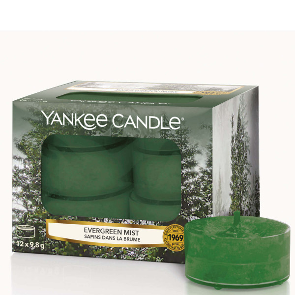 Evergreen Mist 12 Stck von Yankee Candle
