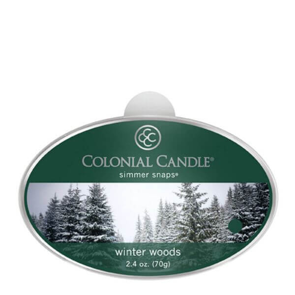 Colonial Candle Winter Woods Simmer Snaps 70g