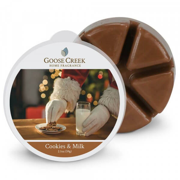 Cookies & Milk 59g von Goose Creek Candle
