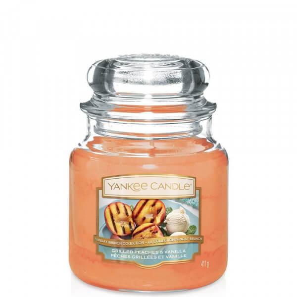 Grilled Peaches & Vanilla 411g von Yankee Candle