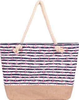 Shopping-Tasche 008 (Navy Pink)