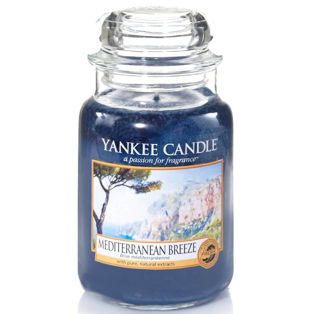 mediterranean breeze 623g von yankee candle online bestellen candle dream. Black Bedroom Furniture Sets. Home Design Ideas