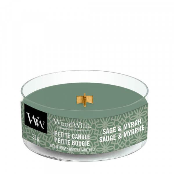 Sage & Myrrh Petite Candle 31g von Woodwick