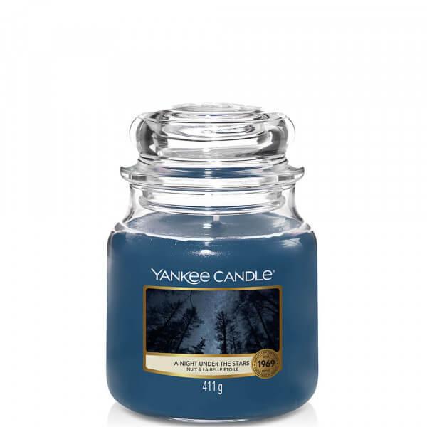 A Night Under The Stars mittleres Glas 411g von Yankee Candle