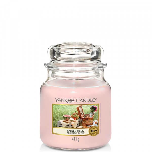 Garden Picnic 411g mittleres Glas von Yankee Candle