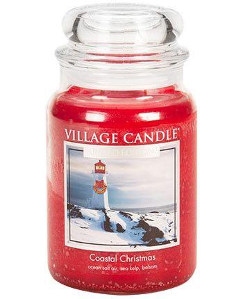 Village Candle Coastal Christmas 623g