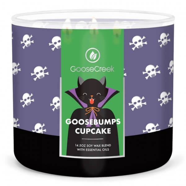 Goosebumps Cupcakes 411g (3-Docht)