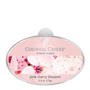Colonial Candle Pink Cherry Blossom Simmer Snaps 70g