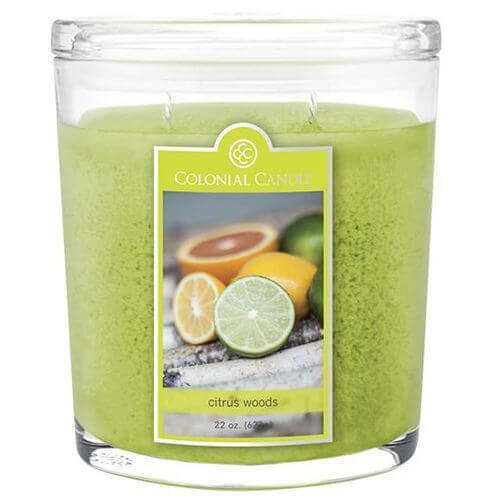 Colonial Candle Citrus Woods 623g