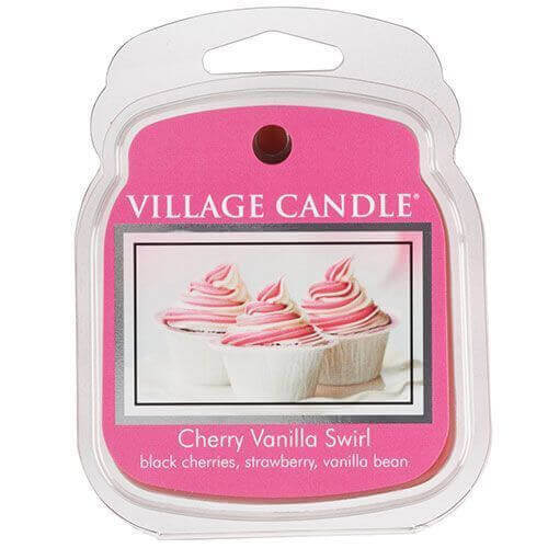 Village Candle Cherry Vanilla Swirl 62g