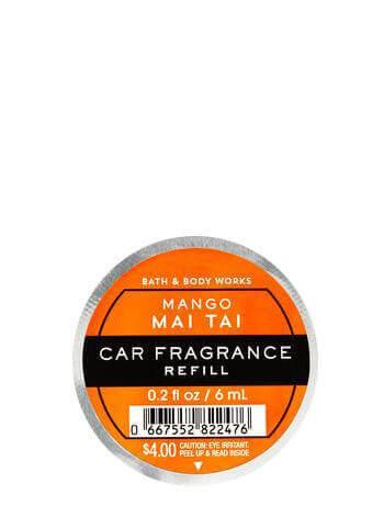 Auto-Lufterfrischer Refill - Mango Mai Tai - 6ml
