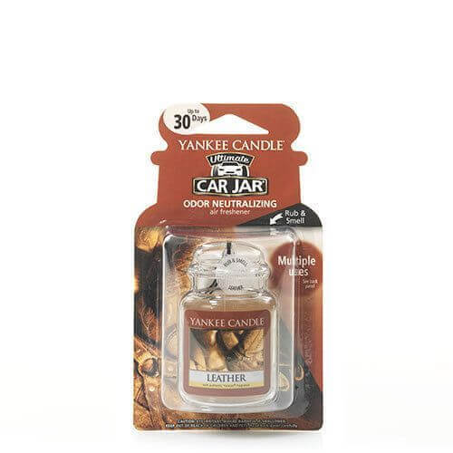 Yankee Candle - Leather Car Jar Ultimate