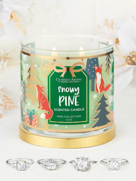 Snowy Pine Kerze (Ring) von Charmed Aroma online bestellen