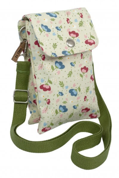 Mini Crossbag Floral beige 701