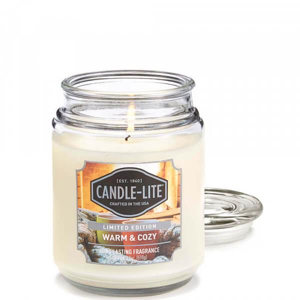 Warm & Cozy 510g von Candle-Lite