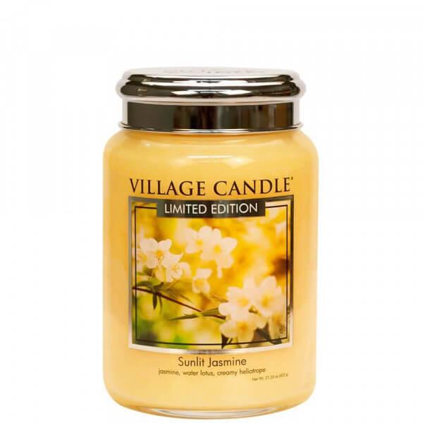 Village Candle Sunlit Jasmine