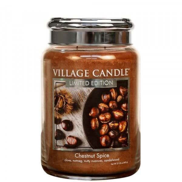 Chestnut Spice 626g von Village Candle