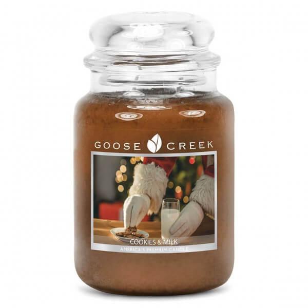 Cookies & Milk 680g von Goose Creek Candle