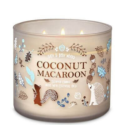 Coconut Macaroon 411g von Bath and Body Works