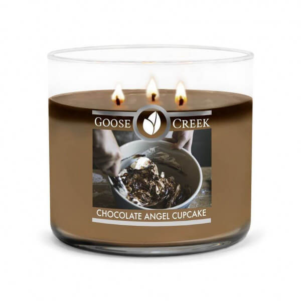 Goose Creek Candle Chocolate Angel Cupcake 411g 3-Docht Duftkerze