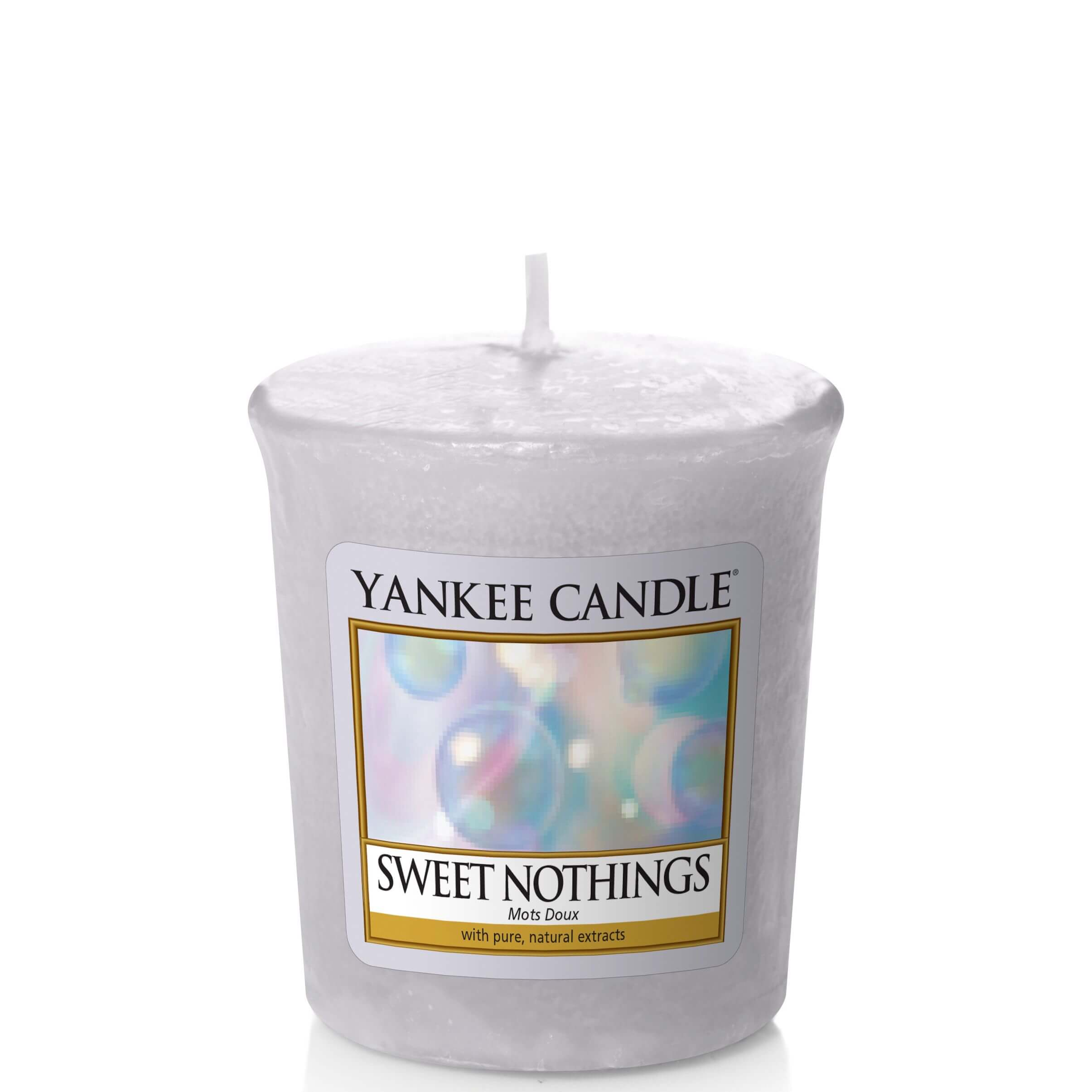 sweet nothings 49g votivkerze von yankee candle online bestellen candle dream. Black Bedroom Furniture Sets. Home Design Ideas