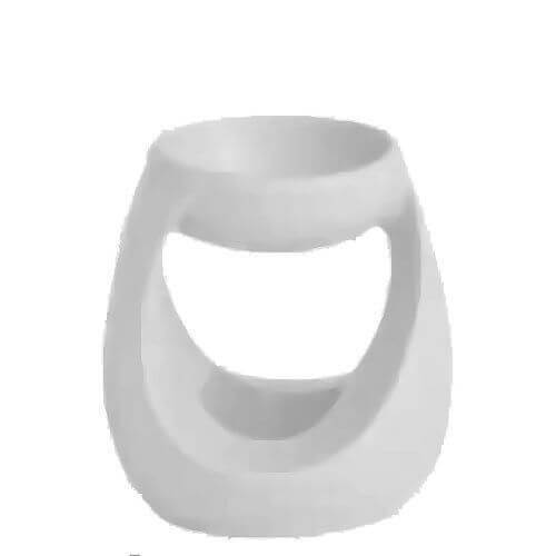 Yankee Candle Duftlampe Turning Stone weiß