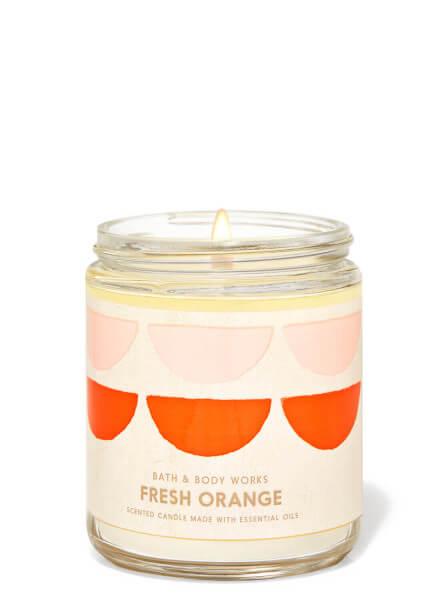 1-Docht Kerze - Fresh Orange - 198g