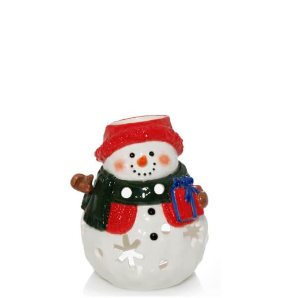 Snowman Small Teelichthalter
