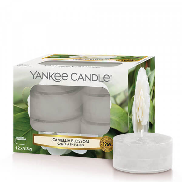 Camellia Blossom 12 St.Teelichte von Yankee Candle