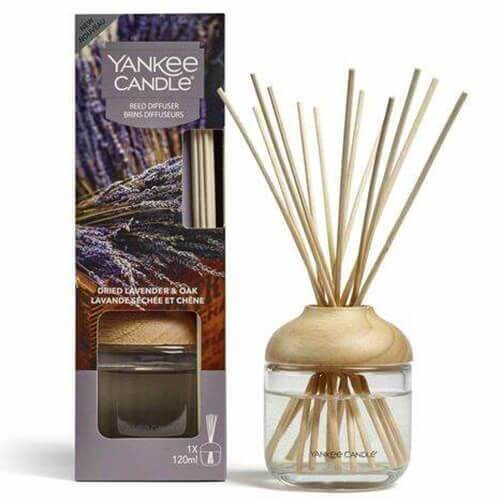 New Reed Diffuser Dried Lavender & Oak von Yankee Candle