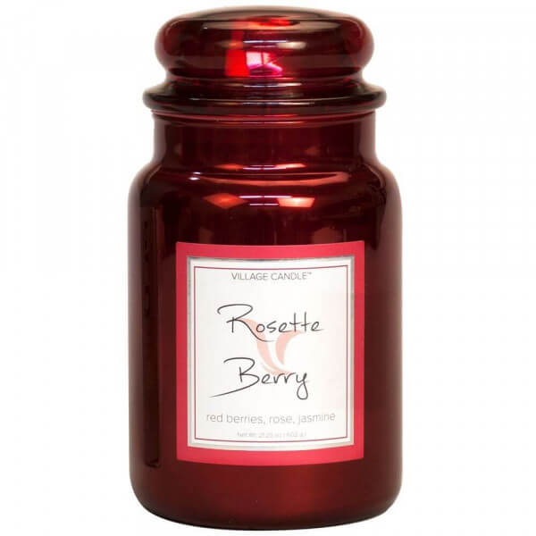 Village Candle Rosette Berry 626g